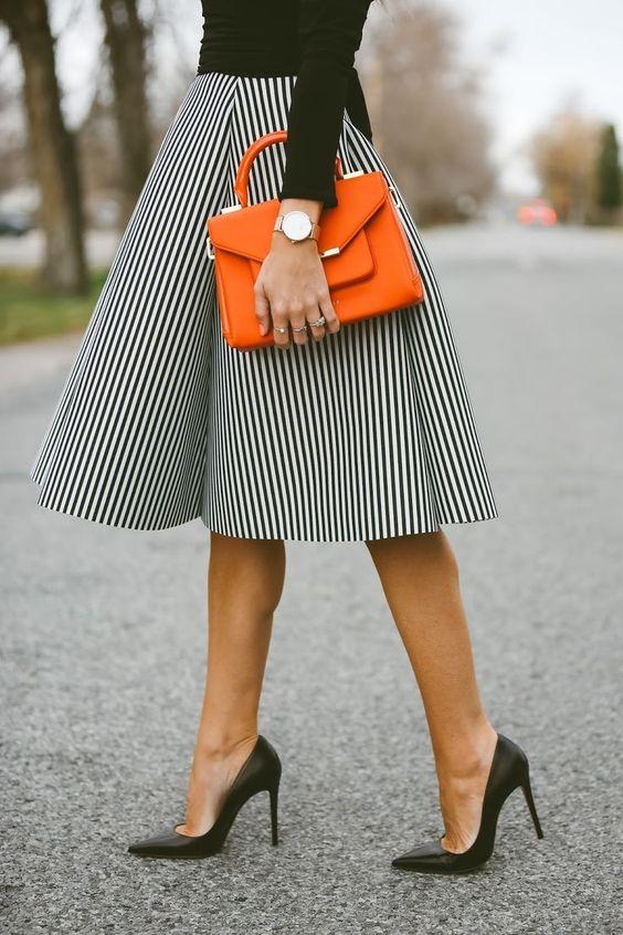 20 стильных юбок миди, которые будут идеальны в любой ситуации