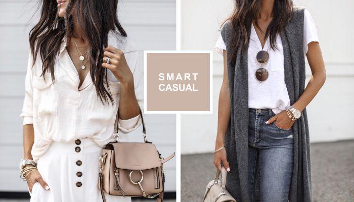 Стиль Smart Casual: 5 стильных образов