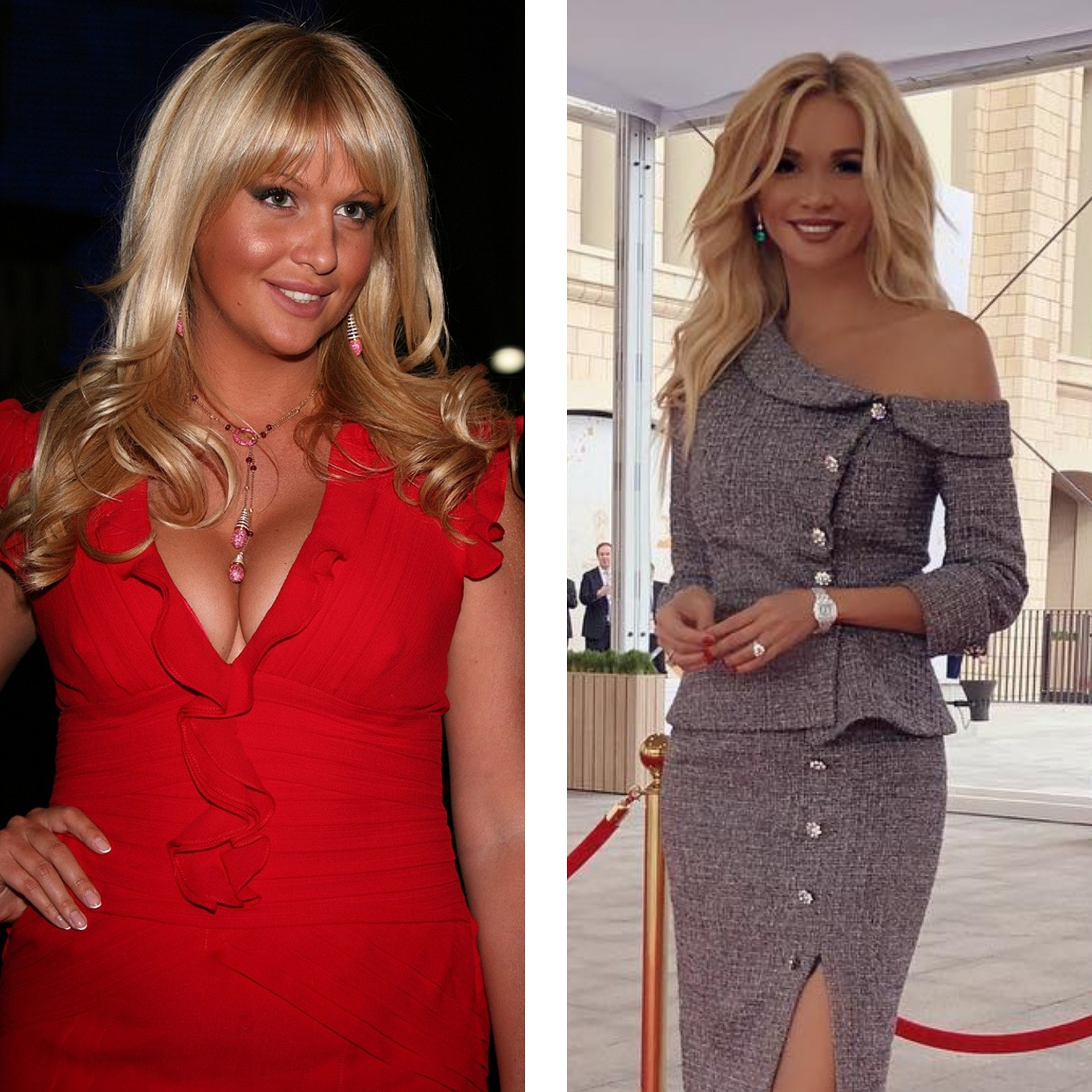 Фото русских знаменитостей до и после похудения