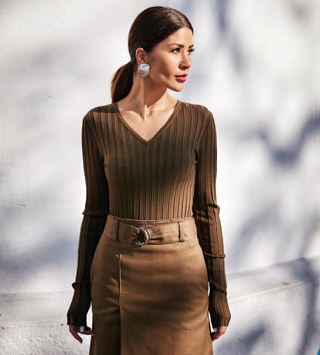 Цвет мокко в одежде: как и с чем носить наряды кофейных оттенков этой осенью фото 3