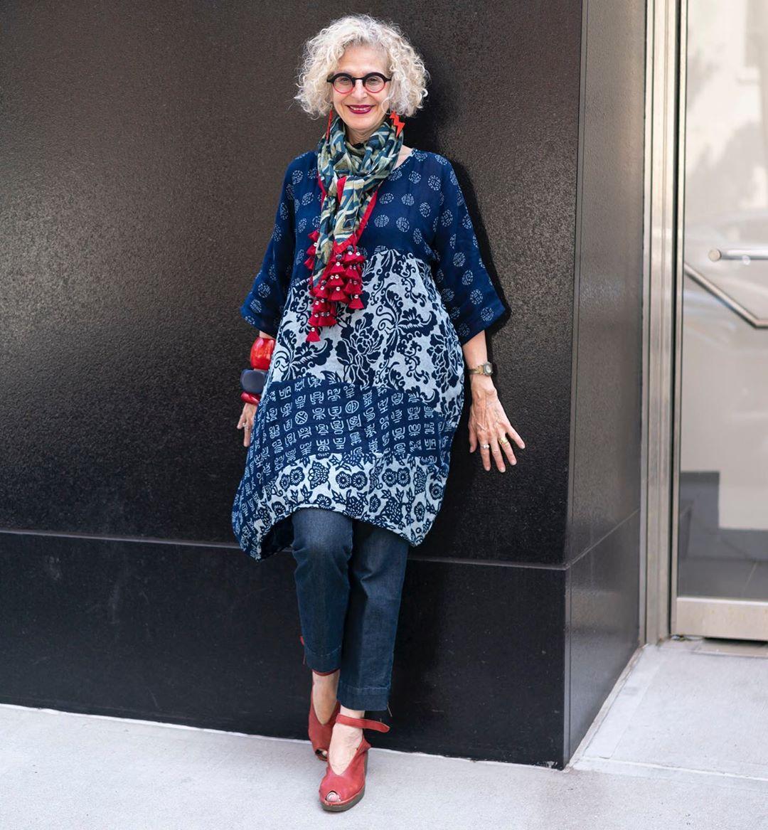 Бохо стиль: 14 ярких, оригинальных образов для женщины элегантного возраста фото8