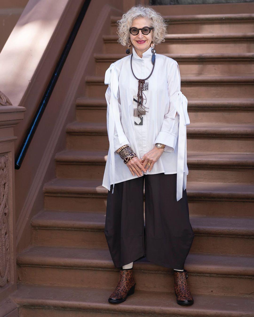 Бохо стиль: 14 ярких, оригинальных образов для женщины элегантного возраста фото5